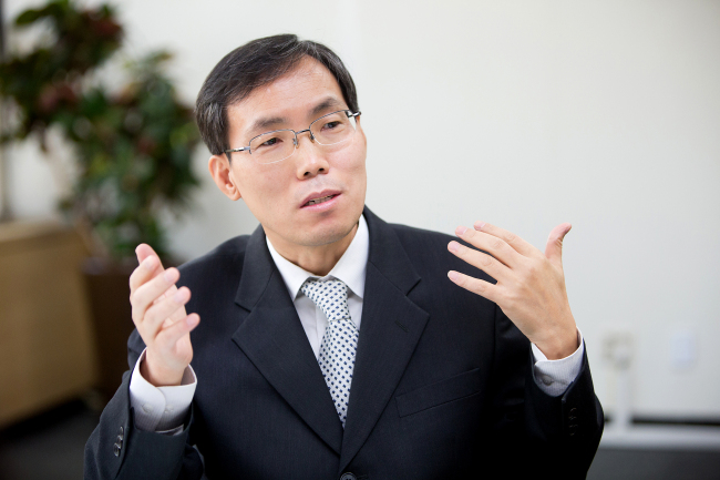 Lim Won-sun, chief executive of the National Library of Korea. (The National Library of Korea)
