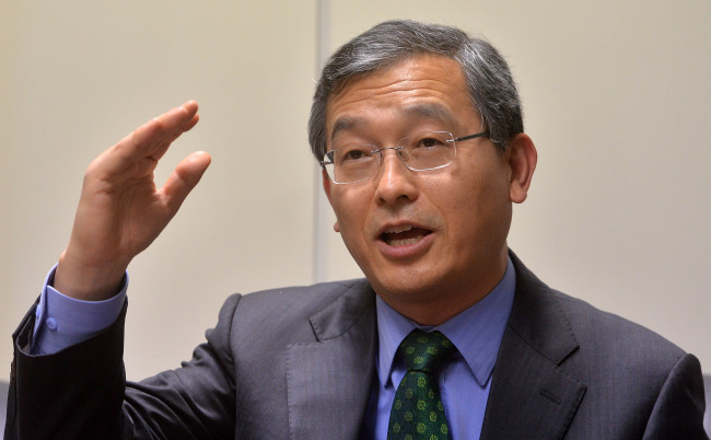 Shin Boo-nam, ambassador for climate change (Lee Sang-sub/The Korea Herald)