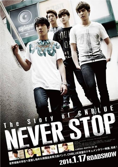 ��The Story of CN Blue/Never Stop�� Belgeselinin Ocak�ta ��kaca�� Kesinle�ti! /// 23.11.2013