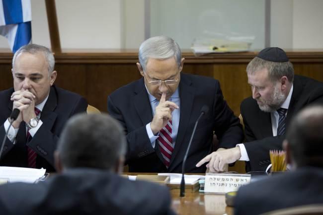 Israeli Prime Minister Benjamin Netanyahu. (AFP-Yonhap News)