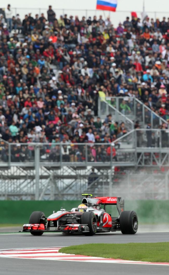 F1 Korea Grand Prix race in 2012