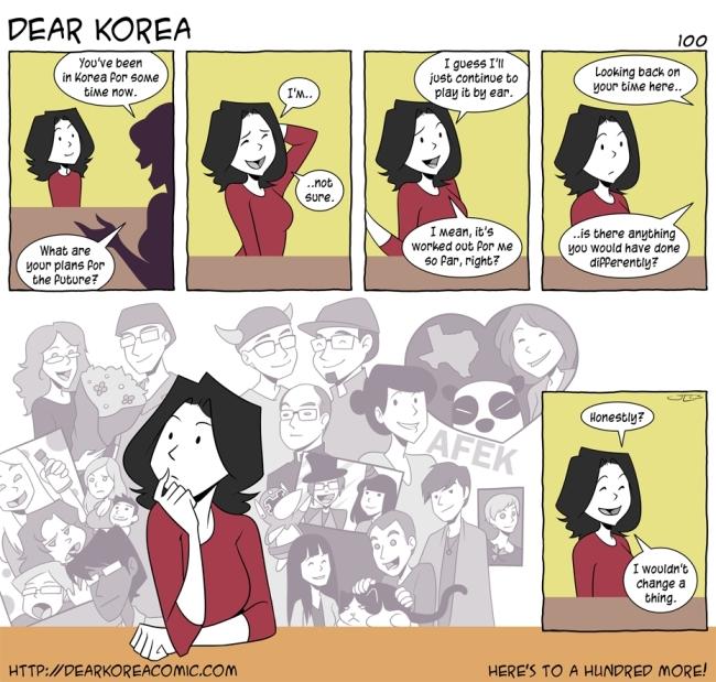 """Dear Korea"""