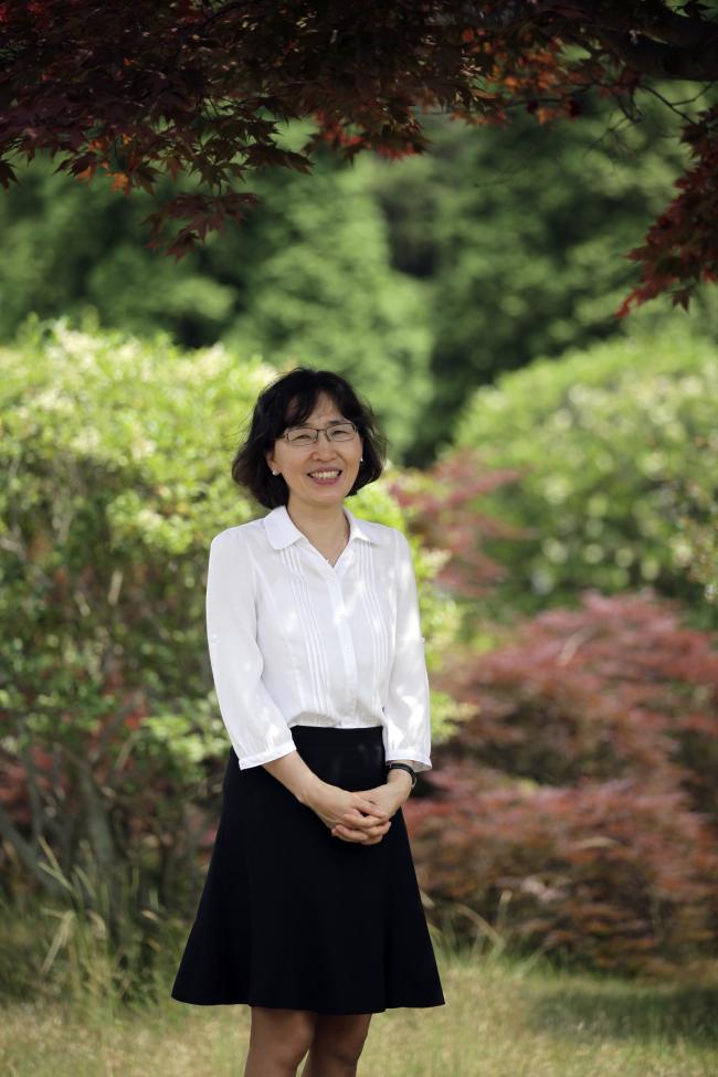 Kim Yun-hi, a chemistry professor at Gyeongsang National University. (Gyeongsang National University)