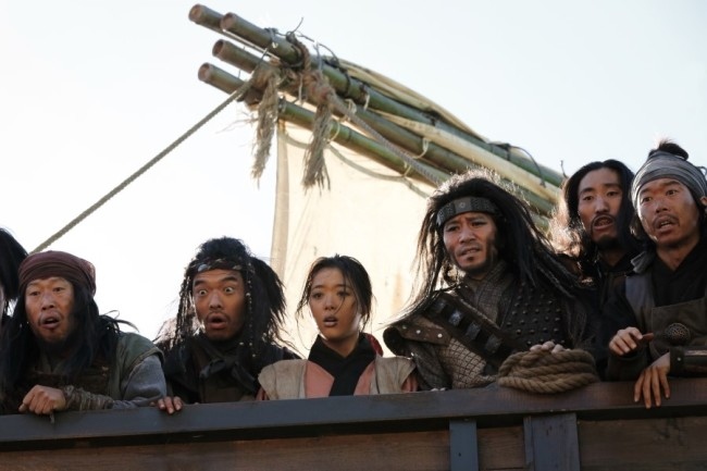 """A scene from the upcoming film """"The Pirates."""" (Lotte Entertainment)"""