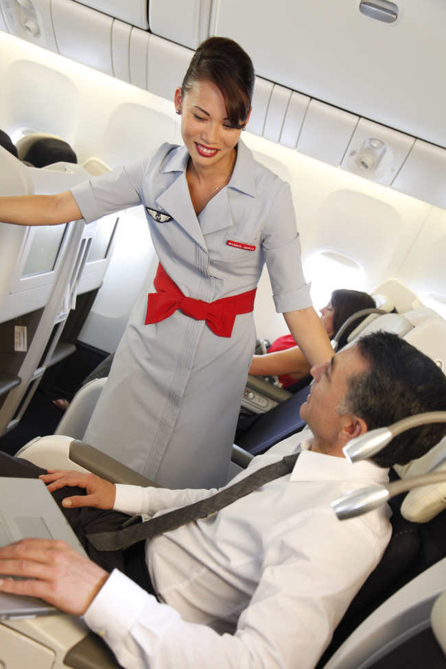 Best brand air france to unveil new business class