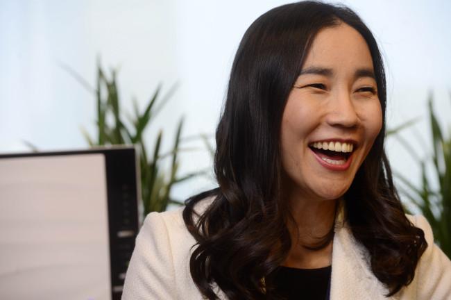 Park Hyun-nam, managing director and co-head of Deutsche Bank's Seoul branch (Park Hae-mook/The Korea Herald)