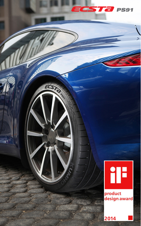 The Kumho Tires ECSTA PS91
