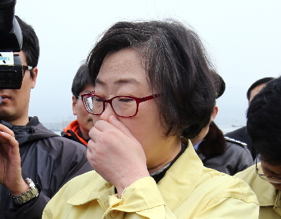 Minister of Oceans and Fisheries Yoon Jin-sook (Yonhap)