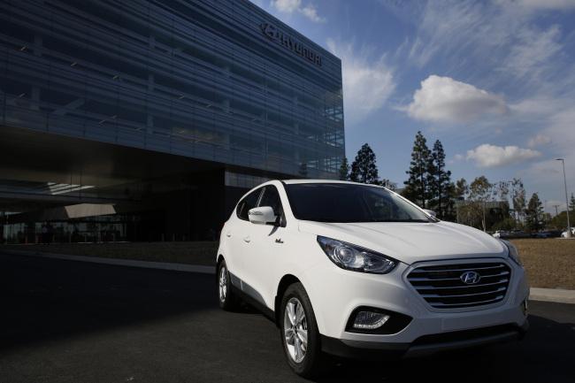 Sewage Derived Fuel Powers Hyundai S California Green Dream