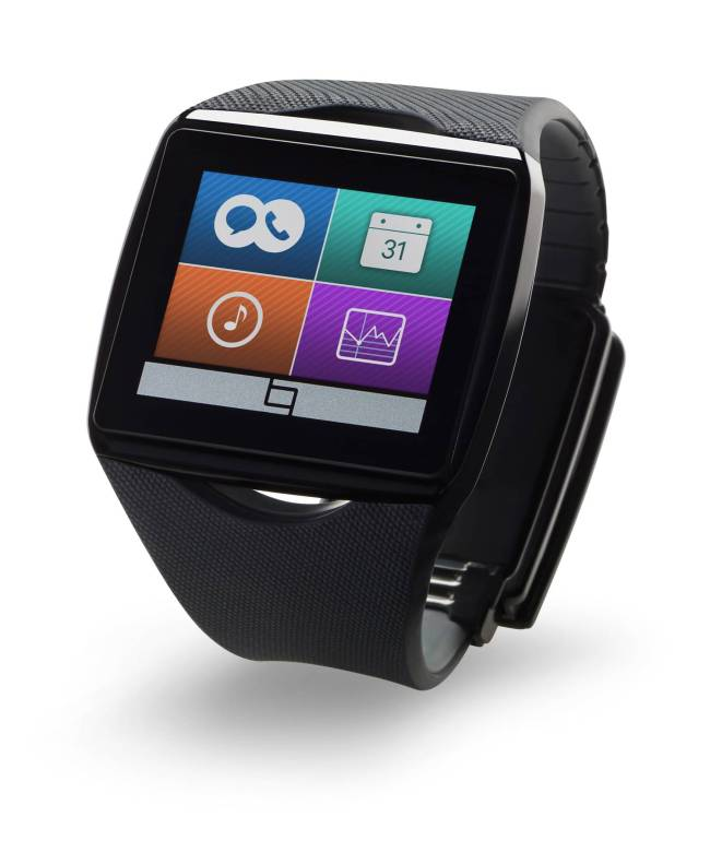 Qualcomm's Toq smart watch uses Mirasol display technology. (Qualcomm)