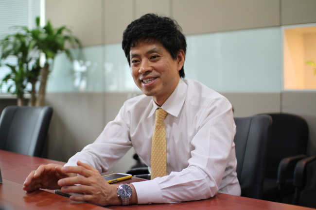 Suprema CEO Lee Jae-won