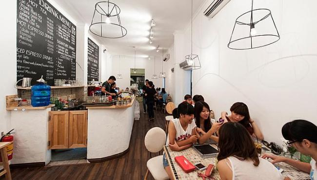 Trendy restaurants, like The Kafe, are riding a wave in Vietnam, where young urban middle and professional classes are finding different cuisines and consumer goods more accessible and want to try them out. (The Straits Times)