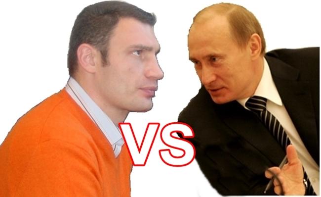 Win russian president vladimir putin or ukrainian opposition leader