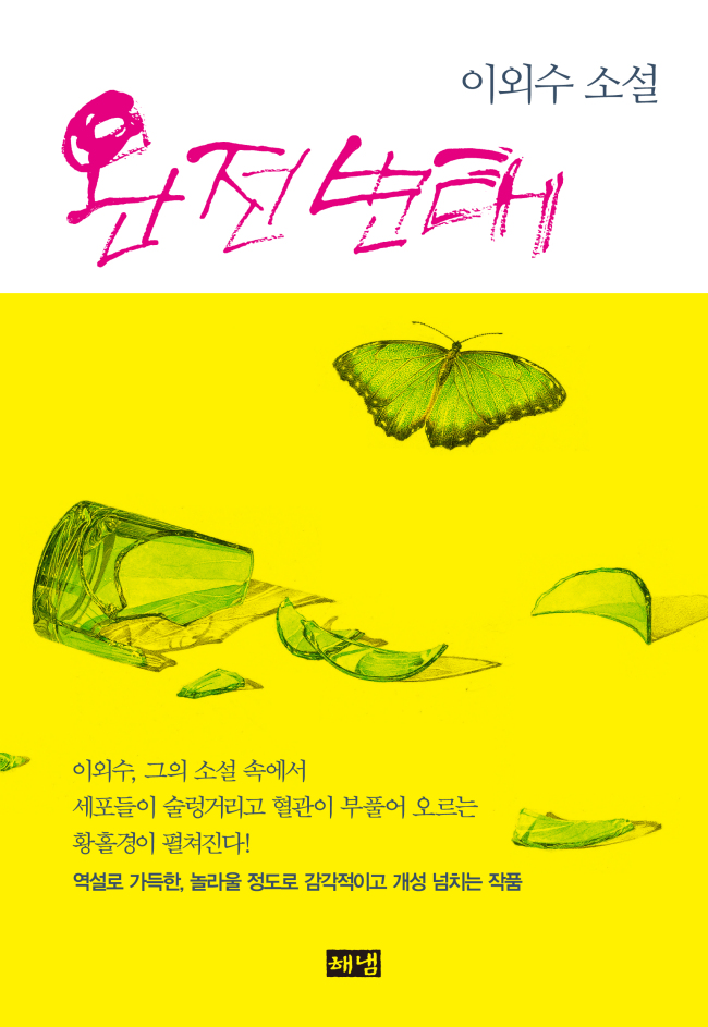 """Lee Oi-soo's latest collection of short stories, """"Wanjeon Byeontae (Complete Metamorphosis)"""" (Hainam Publishing)"""
