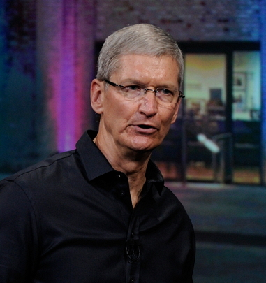 Tim Cook, CEO of Apple Inc. (Bloomberg)