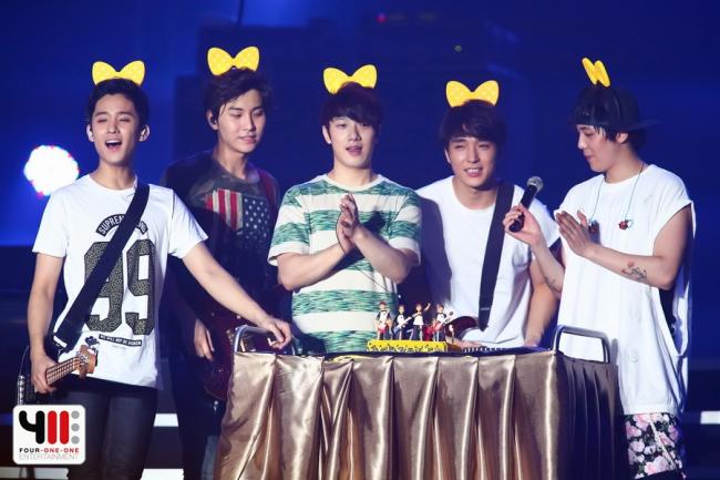 South Korean boy band FTISLAND (Four One One Entertainment Co. Ltd.)