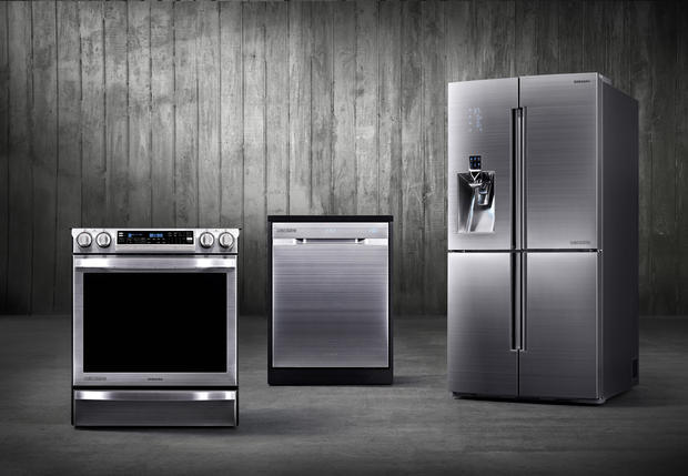 A collection of Samsung's design-driven premium kitchen appliances (Samsung Electronics)
