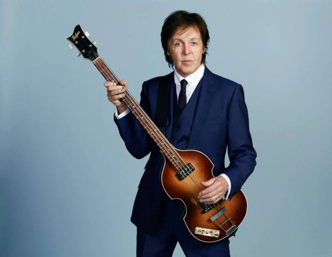 Paul McCartney will perform his first concert in Korea on May 28 at Jamsil Stadium. (Paul McCartney Facebook)