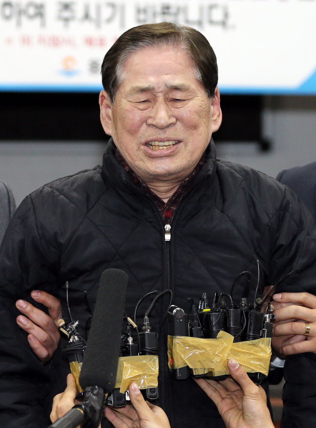 Chonghaejin Marine president Kim Han-sik. ( Yonhap)