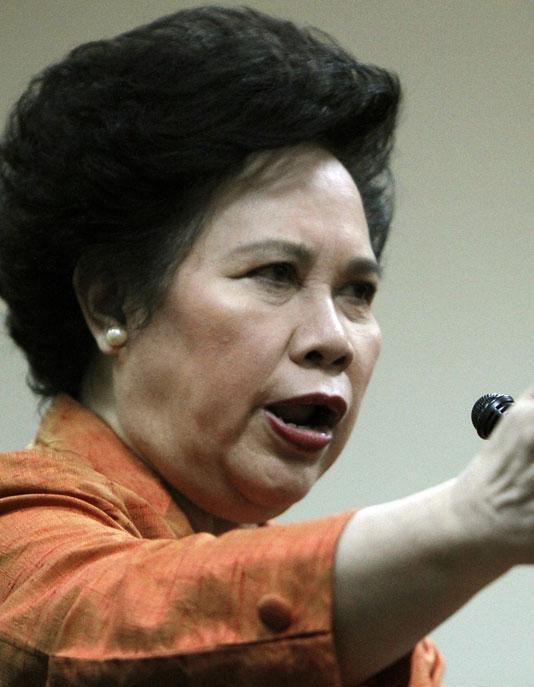 Sen. Miriam Defensor-Santiago