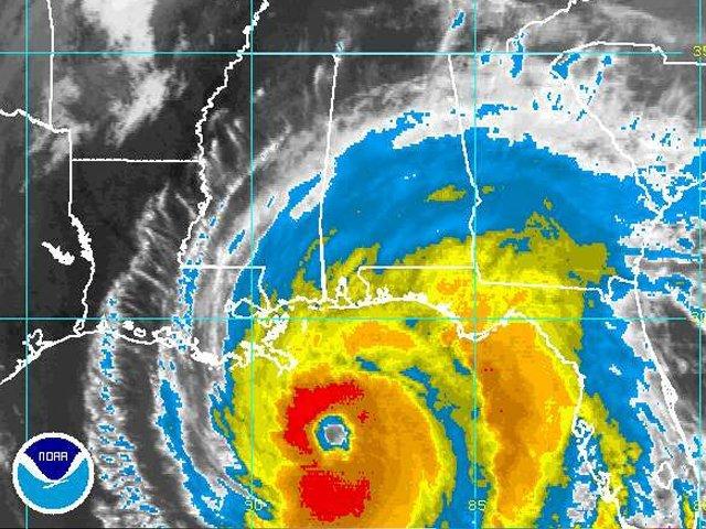 Radar image of Hurricane Ivan (MCT)
