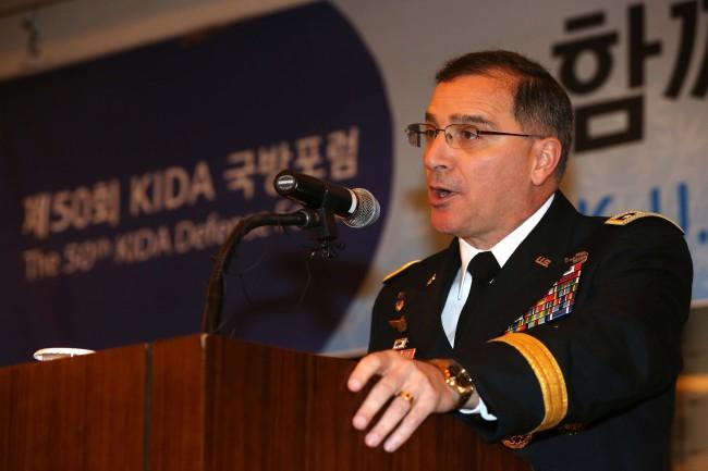U.S. Forces Korea Commander Gen. Curtis Scaparrotti