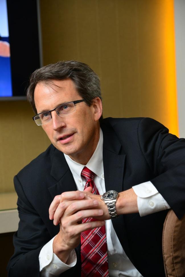 Rick Bergman, CEO of Synaptics. (Synaptics)