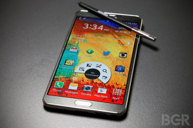 Concept design for the Samsung Galaxy Note 4 (BGR)