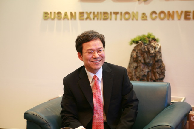 Oh Sung-keun, CEO and president of BEXCO (BEXCO)