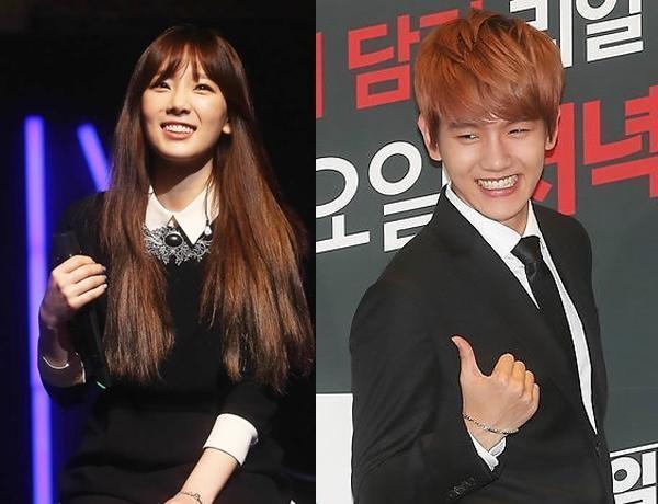 taeyeon dating exo baekhyun