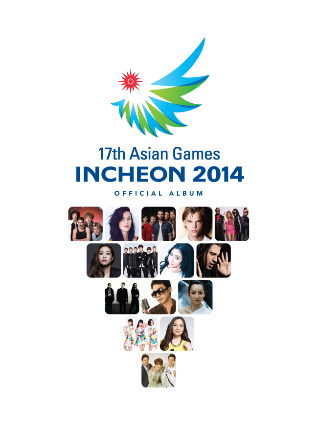 """17th Asian Games Incheon 2014 Official Album"" (Universal Music)"