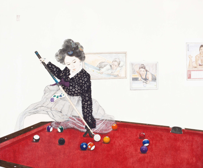 """Swag or Die: Naive Lady"" by Kim Hyun-jung. (Courtesy of the artist)"