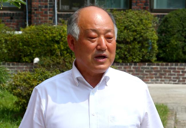 Education Minister-designate Kim Myung-soo