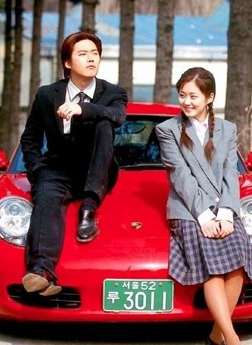 Actor Jang Hyuk and actress Jang Na-ra pose for the official poster of MBC rom-com television series