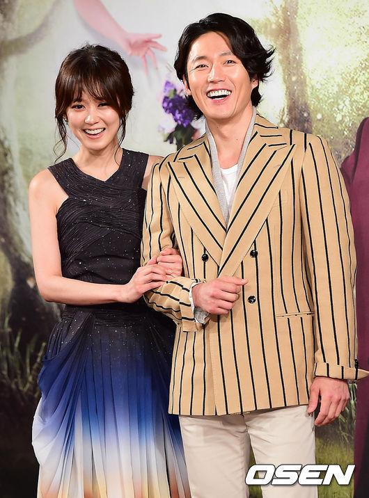 Actress Jang Na-ra and actor Jang Hyuk attend the press conference for the MBC's new rom-com drama