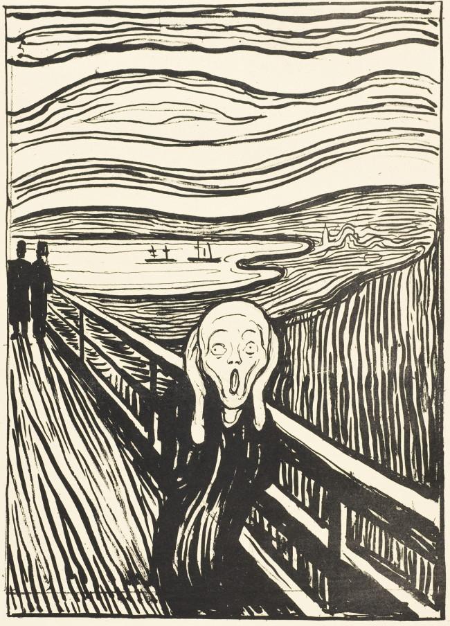 """The Scream"" by Edvard Munch (Munch Museum/Munch-Ellingsen Group/BONO, Oslo 2014)"