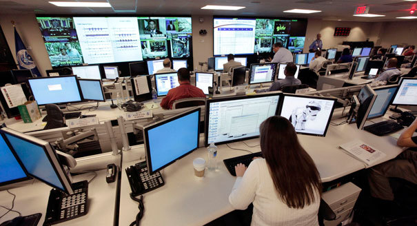 The National Cybersecurity & Communications Integration Center in Arlington, Virginia. (AP Photo)