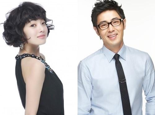 South Korean actress Hwang Bo-ra, actor Cha Hyun-woo. (Fantasio)