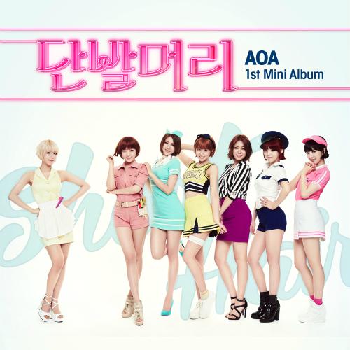 """AOA's EP """"Short Hair"""""""