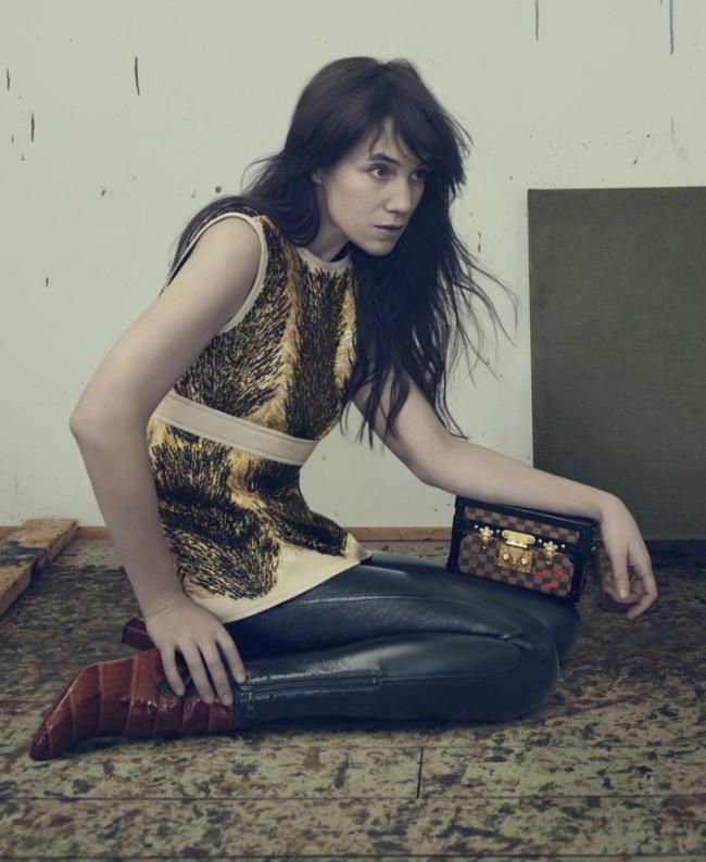 The Louis Vuitton Series 1 fashion campaign, shot by Annie Leibovitz (Louis Vuitton)