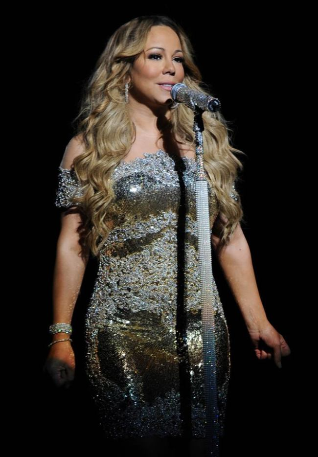 Mariah Carey. (Mariah Carey Facebook)