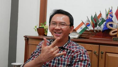 Vice Gov. Basuki Tjahaja Purnama, or Ahok, a Chinese and a Christian, wants to downplay the role of ethnicity, and instead wants leaders who are clean and capable. (Zakir Hussain/The Straits Times)
