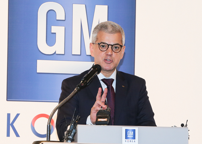 GM Korea CEO Sergio Rocha. (GM Korea)
