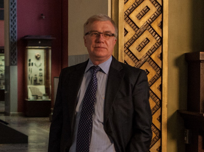 Alexy Levykin, director of The State Historical Museum in Moscow (Corea Image Communication Institute)