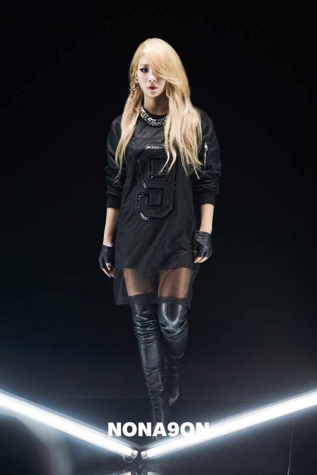 Pieces from NONAGON's collection (Cheil Industries)