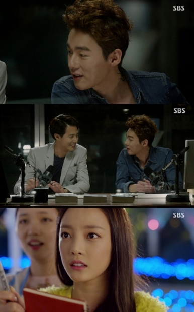 Entertainer Huh Ji-woong (top), actor Jo In-sung (center, left) and KARA Goo Hara (bottom) appear on the last episode of MBC's rom-com
