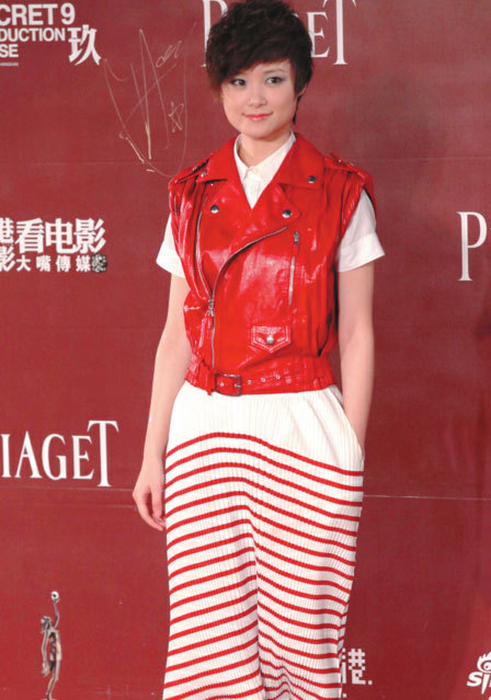 Li Yuchun, the singer who won a nationwide televised music contest nearly a decade ago, still moves magazines. (AP)