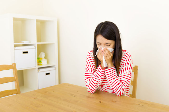 Allergic rhinitis is known to be most common in Septemter and October in South Korea. (123RF)
