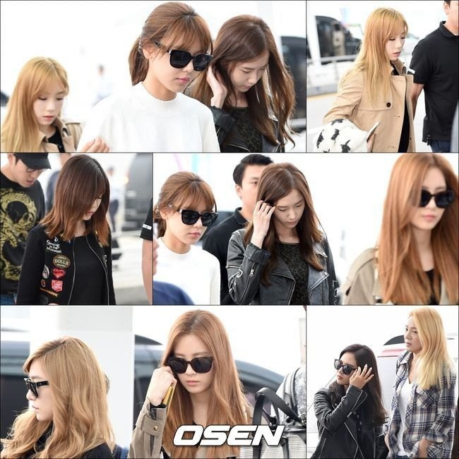Girls' Generation left for China without Jessica on Tuesday (Osen)