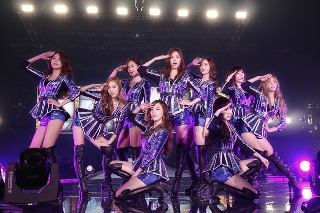 Jessica and Girls' Genration (SM Entertainment)
